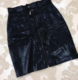 Short skirt with lock🖤