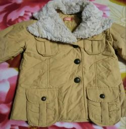New demi-season jacket for children, height 120 cm