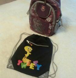 School bag.