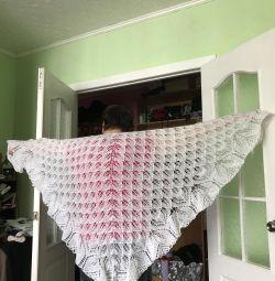 Shawl feather shawl