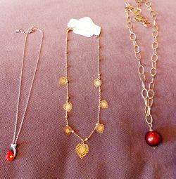 Pandantive și lanțuri noi (bijuterii)