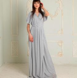 Simli ile yeni gece elbisesi