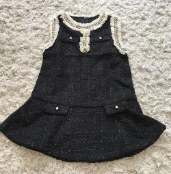 Bebek için tüvit elbise