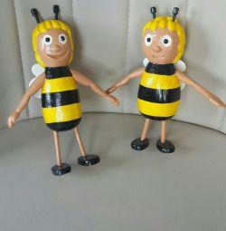 Деревянные пчeлы