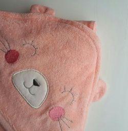 Baby towel corner new