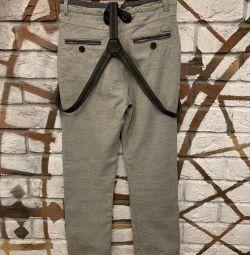 Pantaloni suspendați Zara