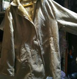 Sheepskin coat for women 52-54