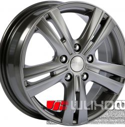 Колесные диски SKAD Багира 6x16 PCD 5x114.3 ET 54 DIA 67.1 Алмаз
