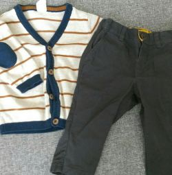Jacket and H&M pants