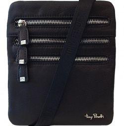 New leather. Men bag Tony Perotti (Italy)