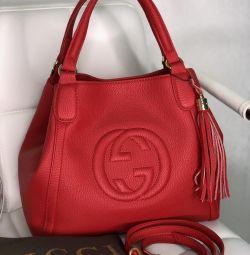 Сумка Gucci с длинным ремнeм в комплекте новая