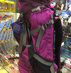 Backpack hiking and tourist Woodland 60 liters