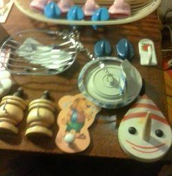 Гачки вешалочкі для ванни і кухні