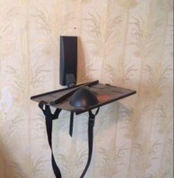 Mount for TV tube