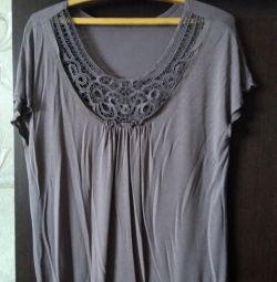Bluza-tricou de sex feminin de dimensiuni -48