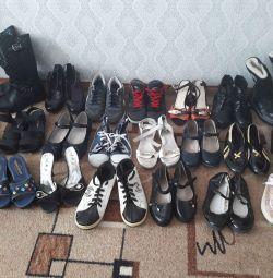 Παπούτσια, μπότες, αθλητικά παπούτσια