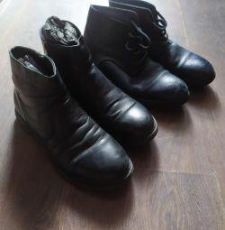 Ανδρικές μπότες ζεστά 2 ζεύγη