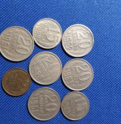Vinde monede din URSS ..