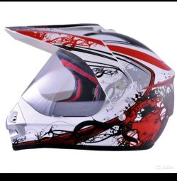 Шлем мото размер S