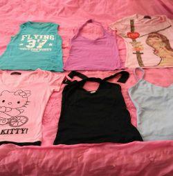 Μπλουζάκια, πουκάμισα