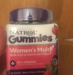 Мармеладкі- жіночі вітаміни