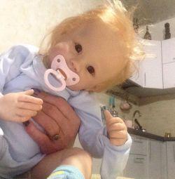 Doll bobblehead reborn gift