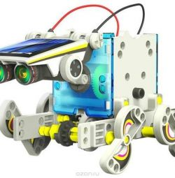 Constructor 14 in 1 solar robot new