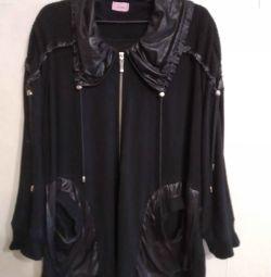 Jachetă tricotată 54-60 p.
