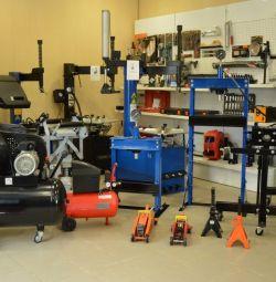 Servis istasyonları için ikinci el ekipman ve aletler satın alın