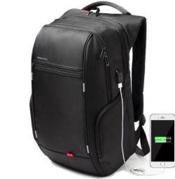 Backpack KingSons negru 17 cm! Calitatea 👍
