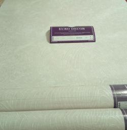 Wallpaper white 3 rolls