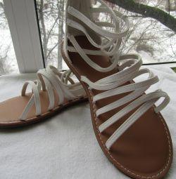 Femei pantofi 37 mărimi sandale noi bleumarin