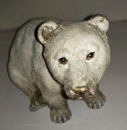 Ведмідь. Декоративна фігурка.