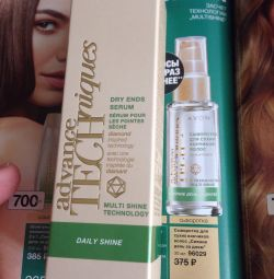 Serum for dry strip tips