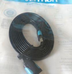 Μίνι καλώδιο USB 1,5 m. ,, Vention ,,