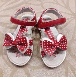 Sandalet ve bale daireler 16 cm.
