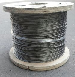 Stainless steel cable 4mm, 6mm