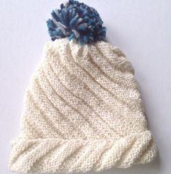 Νέο παιδικό καπέλο (μαλλί)