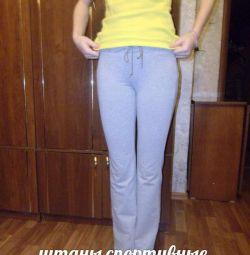 штаны спортивные на девочку