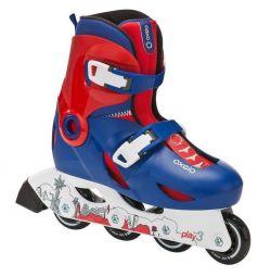 Rollers for children sliding