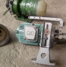 Dikiş makinesinde motor