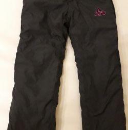 Новые штаны зимние