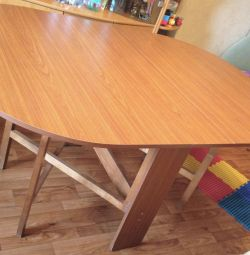 folding dining table 154 * 107 * 76 * 24