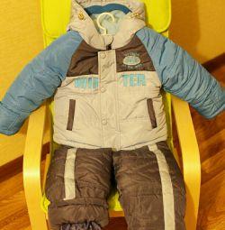 Jacheta + pantaloni 👉 NOU pentru 👑 2-4 ani