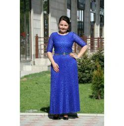 R. 64 Μπλε φόρεμα