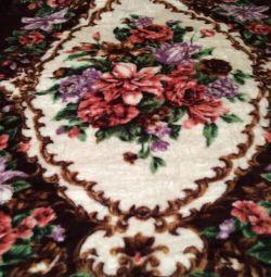 Plaid bedspread 200 150 new