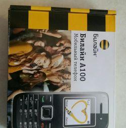Telefon mobil Beeline A 100. Nou