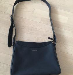 Deri / kadife çanta