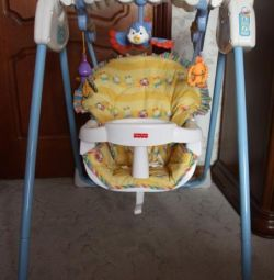 Electronic swing fisher price