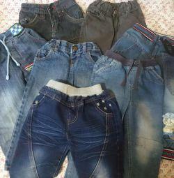 Pantaloni pentru copii, blugi